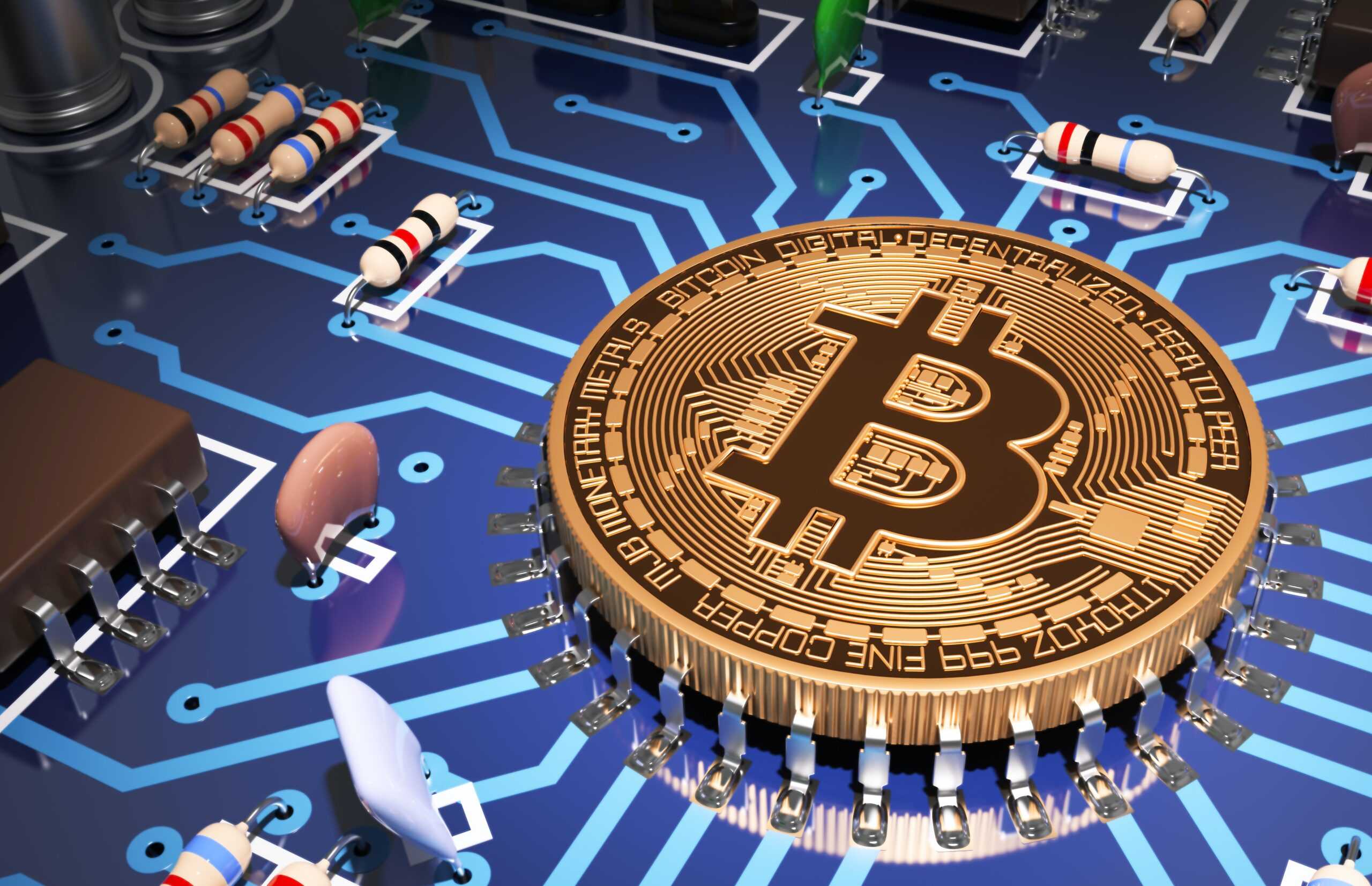 How biticoin plays a major role in stock market exchange?